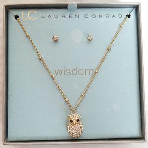 *NWT* LC LAUREN CONRAD 'Wisdom' owl jewelry set